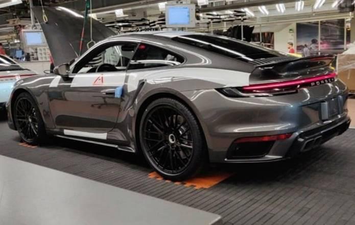 novo 911 turbo 2020