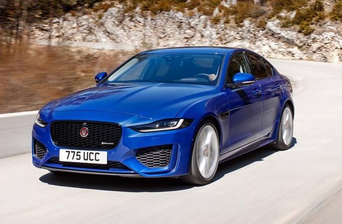 novo jaguar xe 2020