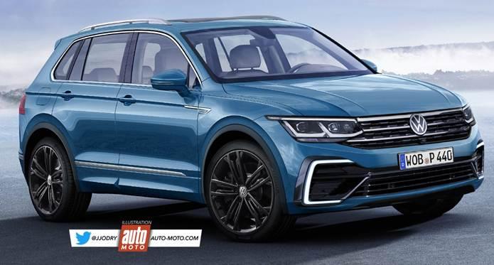 Novo VW Tiguan 2021 é flagrado sem camuflagem na Europa ...